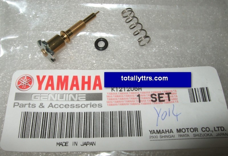 Carb pilot screw set - genuine Yamaha part - Totally TTRs