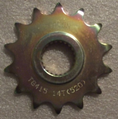 Sprocket front - 14 tooth