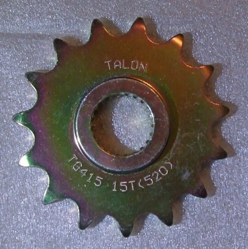 Sprocket front - 15 tooth