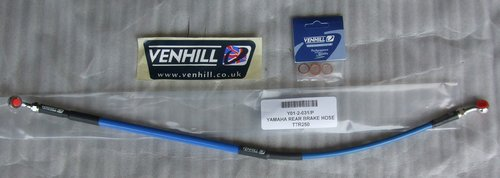 Brake Hose rear - blue - Venhill