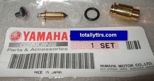 Carb Float Needle Valve Set - genuine Yamaha part