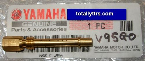 Carb Nozzle V95GO for main jet - Blue TTRs - genuine Yamaha part