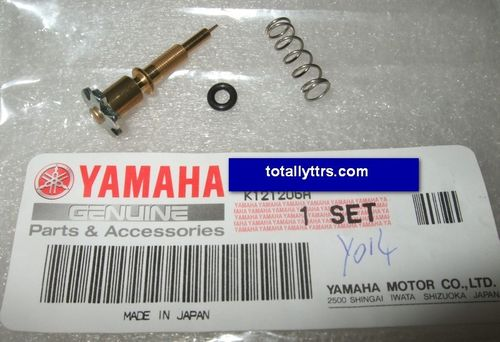 Carb pilot screw set - genuine Yamaha part