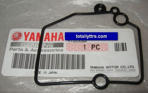 Carb Float Bowl Gasket - genuine Yamaha part