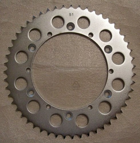 Sprocket - Steel 51 tooth