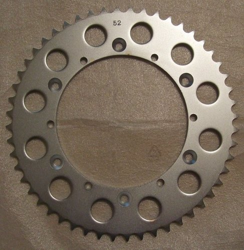 Sprocket - Steel 52 tooth
