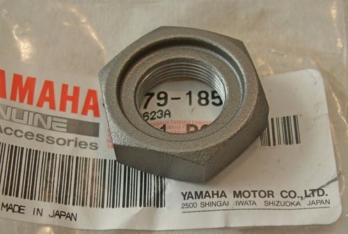 Sprocket nut - genuine Yamaha part - TTR250