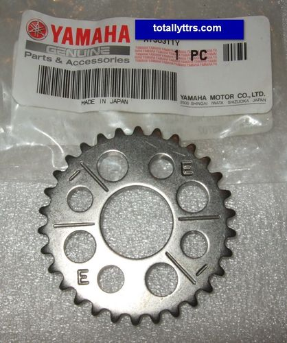 Cam Chain Sprocket - genuine Yamaha part