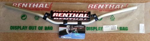 Handlebars - Renthal standard height handlebars with bar pad