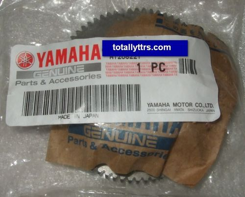Idler/Starter Gear 1 - 72/19 tooth  - genuine Yamaha part