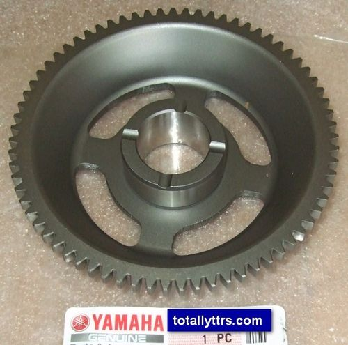 Idler/Starter Gear 3 - fits behind the flywheel - genuine Yamaha part