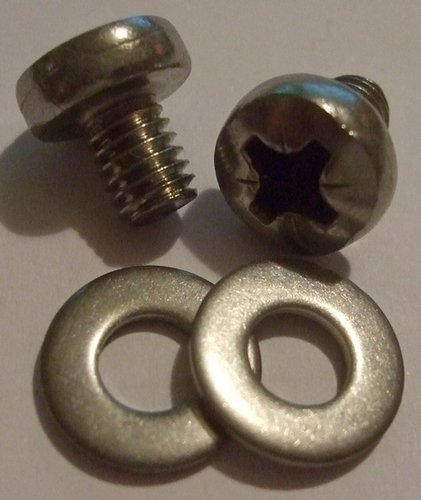 Exhaust Guard Screws and Washers - pair