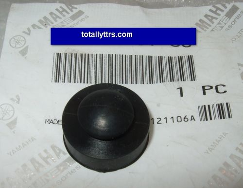 Exhaust rubber - panel protector - genuine Yamaha part