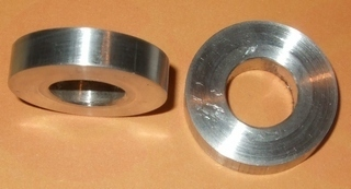 Bar Riser Spacers pair - 6mm