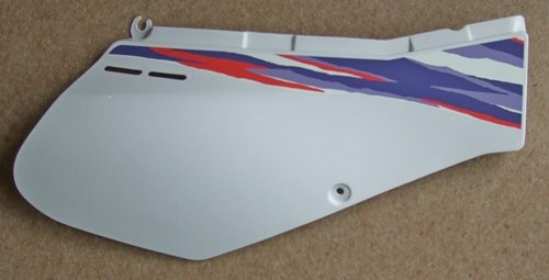 Panel - White - RH - Exhaust Side (Cover 2) - genuine Yamaha part