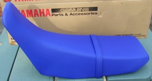 Seat - Blue - Genuine Yamaha - ONLY AVAILABLE TO ORDER