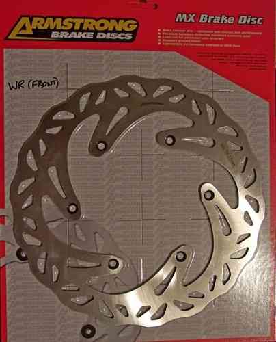 WR250R/X - Armstrong solid wavy front disc