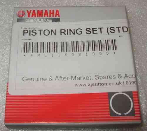 WR250R/X Piston Ring set - Standard - genuine Yamaha part