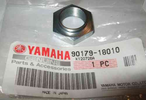 WR250R/X spiked sprocket nut - genuine Yamaha part