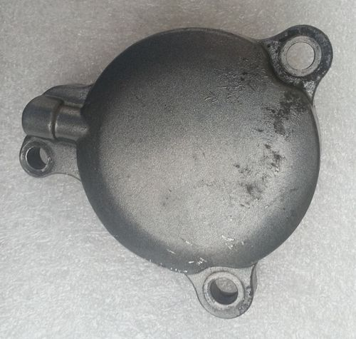 Oil filter cover - used