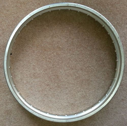"Genuine Yamaha 21"" front wheel rim in usable condition!"