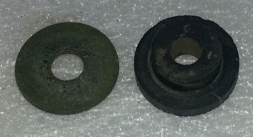 Rubber damper and washer for both digital and analogue speedos