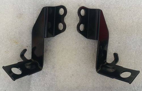Indicator brackets (pair) for white metal-tanked OE models - used