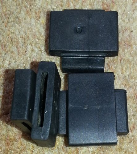 Indicator (winker, flasher, blinker) relay mounting rubber bracket - OEM - used