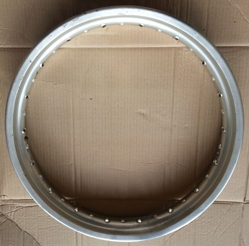 "Genuine Yamaha 18"" rear wheel rim in usable condition!"