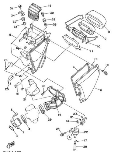 Carburettor To Airbox Clamp