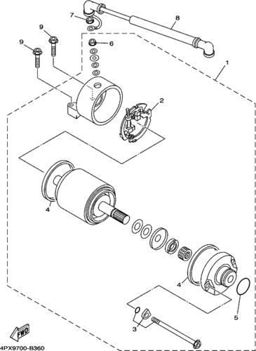 Starter Motor O Rings