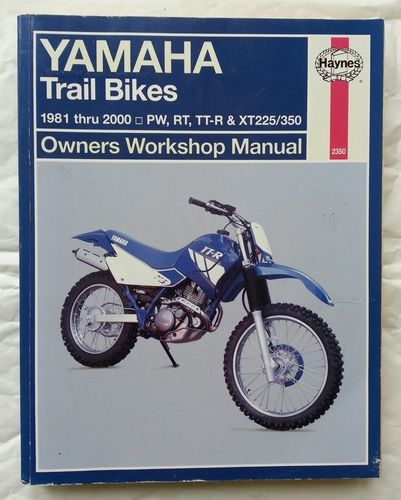 Haynes Manual for TTR250 plus other bikes!